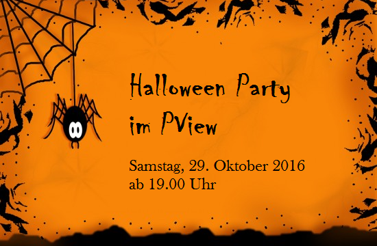 Halloween Party im PVIEW